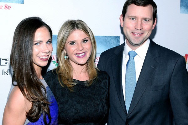 Jenna Bush Hager's water breaks at baby shower