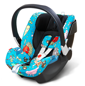 Cybex by Jeremy Scott Aton carseat