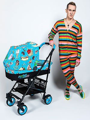 Jeremy Scott teams up with Cybex