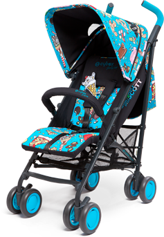 Cybex by Jeremy Scott Onyx stroller