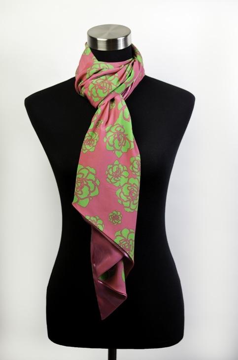 Peony Pop.N.Go scarf