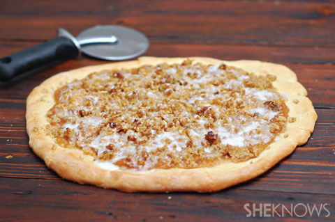 Sweet Cinnamon Pizza Recipe — Dishmaps