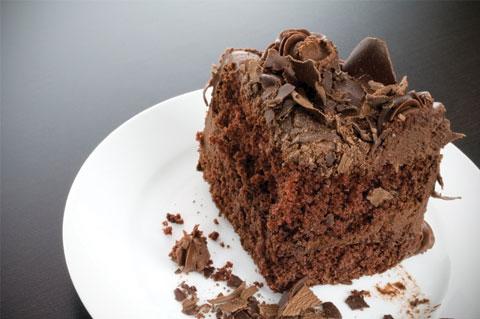 Chocolate overload candy cake