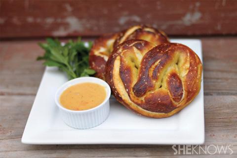ranch soft pretzels