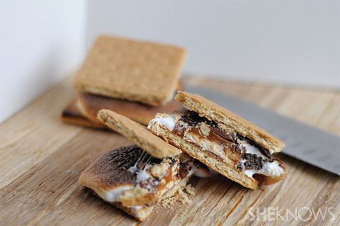 snickers smores