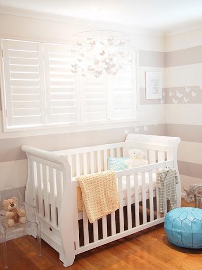 Whimsical Gray Nursery