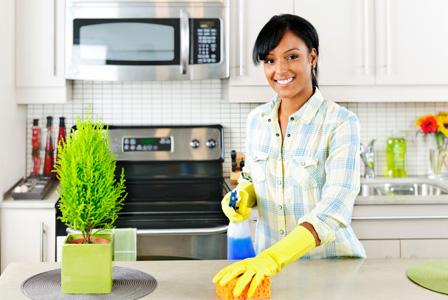 Clean that kitchen!
