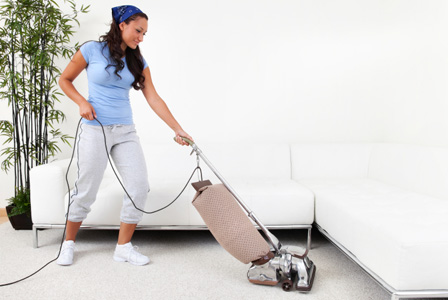 Cleaning carpets the right way