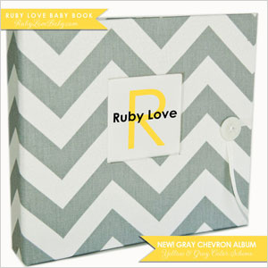 Ruby Love baby book