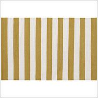 gold stripe rug