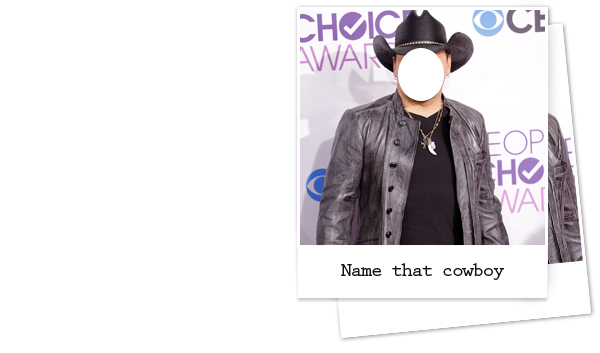 Guess the cowboy hat