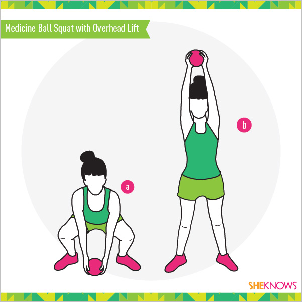 Medicine Ball Squat