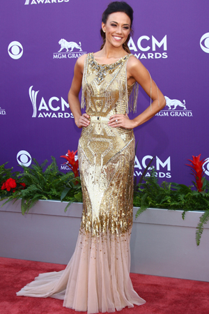 Jana Kramer at the ACM Awards