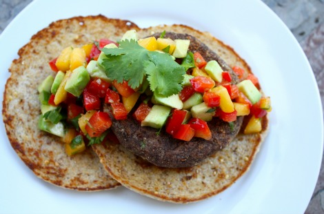 Brazilian Black Bean Patties