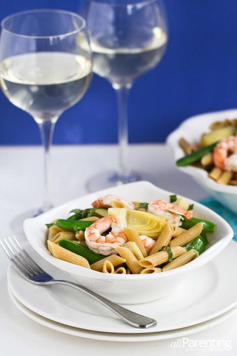 Basil shrimp pasta salad allParenting