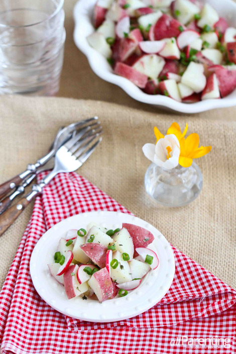 allParenting potato radish salad