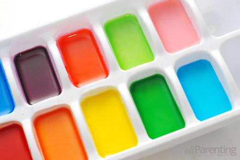 σπιτικά χρώματα του νερού βήμα 10
