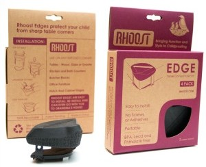 Rhoost table edge protector