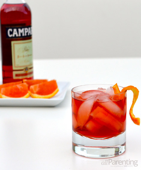 allParenting Negroni cocktail