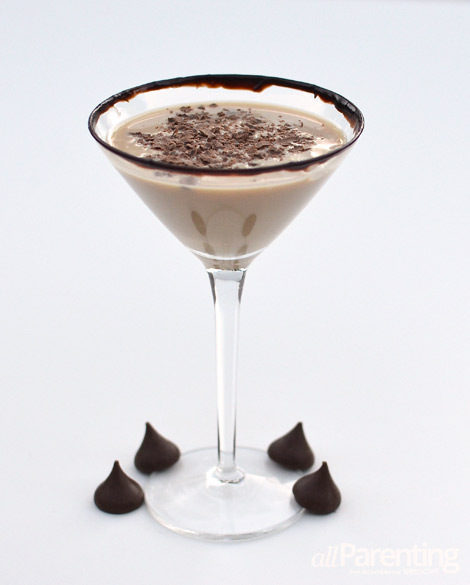 allParenting chocolate kiss martini
