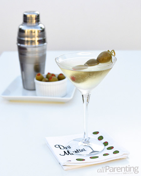 allParenting classic dirty martini