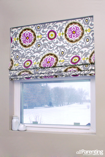 Easy No Sew Roman Shades