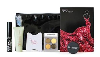 Beauty sample box: Ispy glam bag