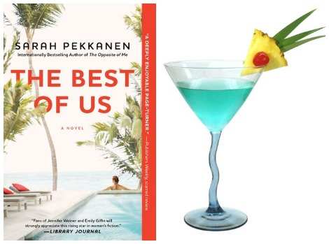The Best of Us book cover deep blue cocktail