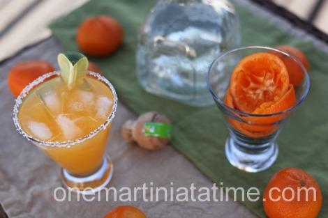 Drunken clementine margarita