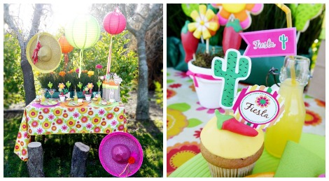 Bird's Party Cinco de Mayo decor