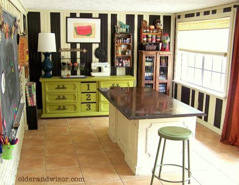 Rebecca Wisor craftroom