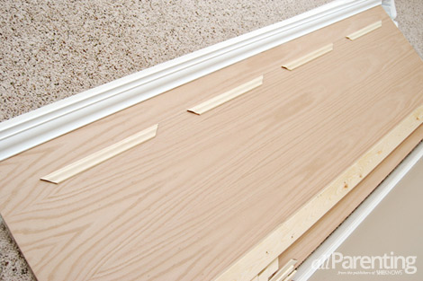 diy door headboard step 5