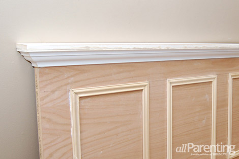 diy door headboard step 7