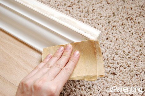 diy door headboard step 9
