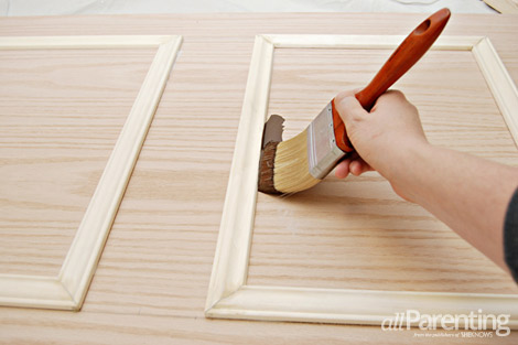 diy door headboard step 10