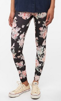 Urban Outfitters floral leggings