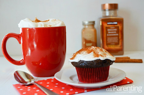 allParenting Mexican hot chocolate cupcakes