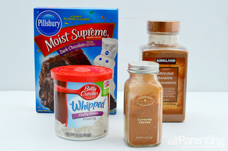 Mexican hot chocolate cupcakes ingredients