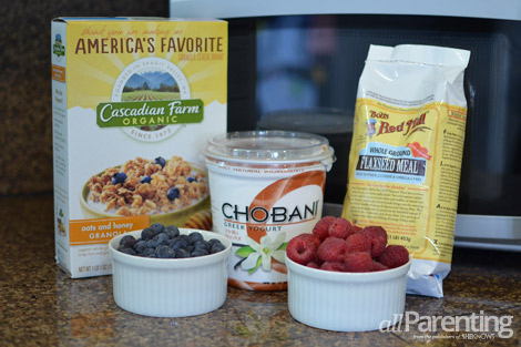 allParenting mason jar breakfast parfait ingredients