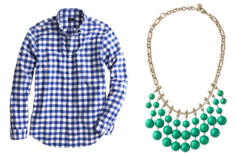 Mens dress shirt and necklace