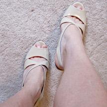 Allison Ellis sexy shoes