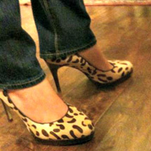 Jennie Hill sexy shoes