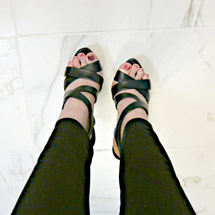 Kelli Kellogg sexy shoes