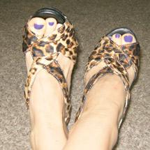 Molly Smith sexy shoes