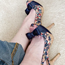 Sherri Kuhn sexy shoes