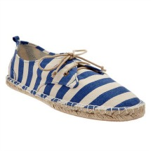 Printed Lace-Up Espadrilles