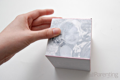 DIY photo cube step 8