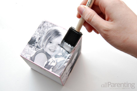 DIY photo cube step 10