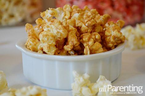 allParenting Peanut butter popcorn