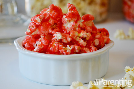 allParenting Strawberry popcorn